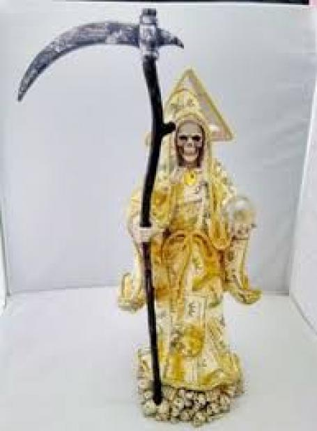 PRAYER OF THE HOLY DEATH OF MONEY