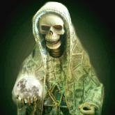 PRAYER TO THE HOLY DEATH OF MONEY
